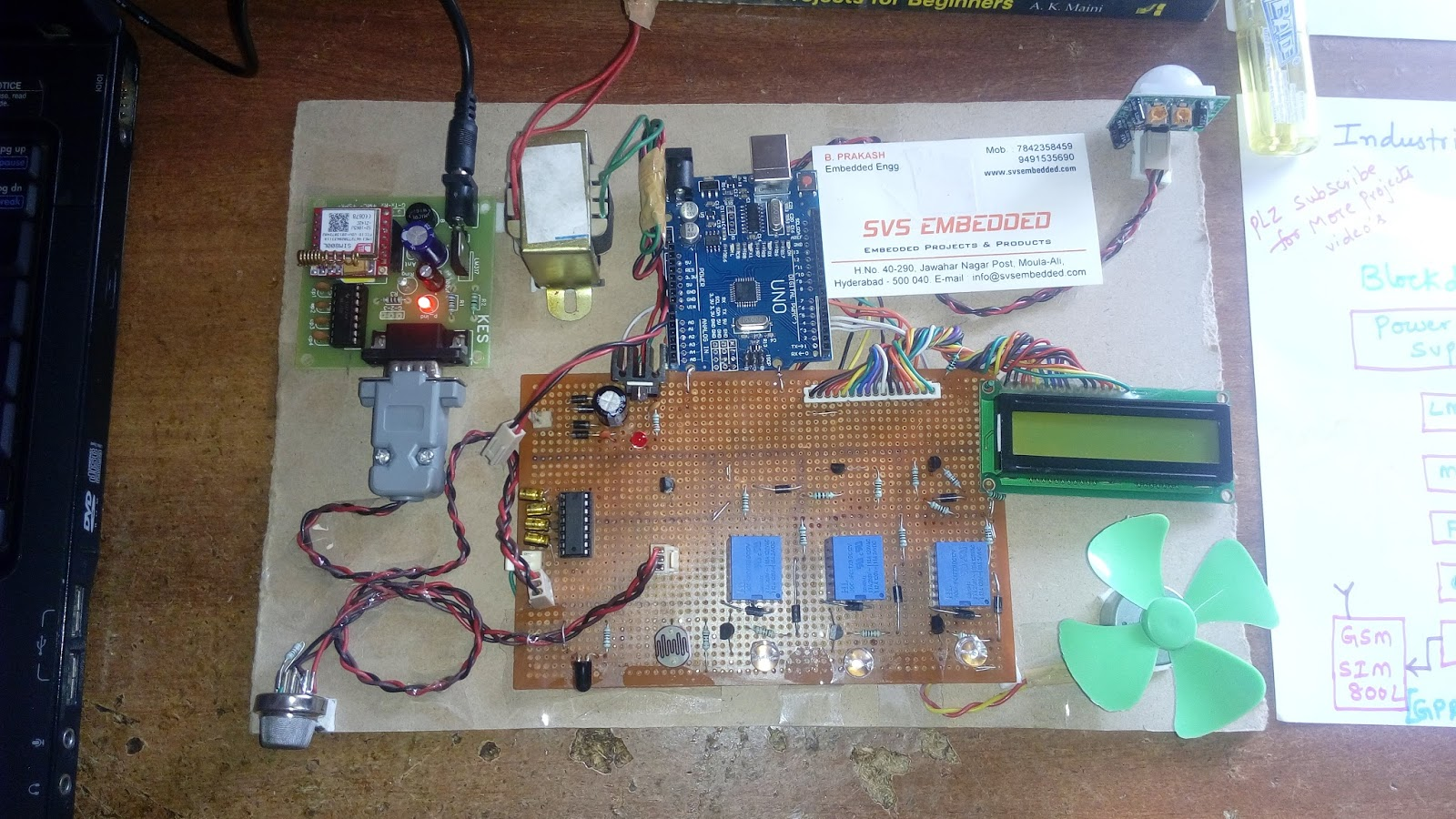 Latest Electronics Projects Ideas For Engineering Students Mini Final Svs Embedded