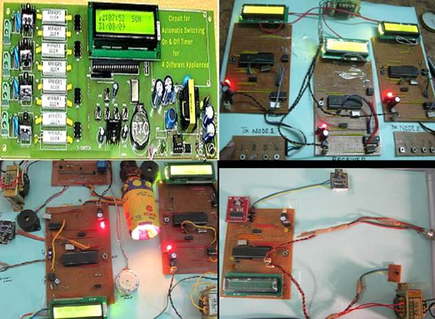 Home Automation Using Gsm With Circuit Diagram Final Year Thesis